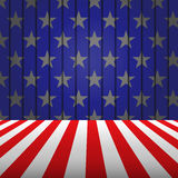 USA empty floor background, vector eps10 Stock Photography