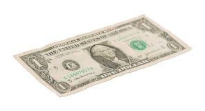 USA en dollarräkning, slut upp Royaltyfria Foton