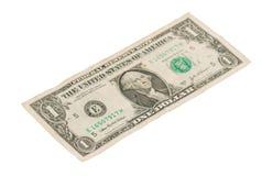 USA en dollarräkning, slut upp Royaltyfria Bilder