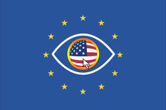 USA and European Union Stock Image
