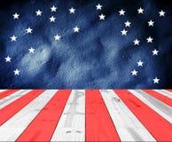 USA färger för bakgrund Royaltyfri Bild