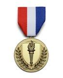 USA-Fackel-Medaille Lizenzfreie Stockfotografie