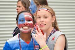 USA-Fans Stockbilder