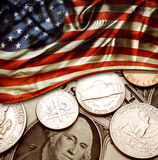 USA finance Royalty Free Stock Images