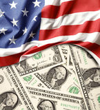 USA finance Royalty Free Stock Photos