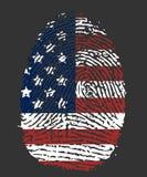 USA Fingerprint Stock Images