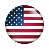 Usa flag Stock Image