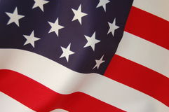 USA Flag. As a patriotic American background Royalty Free Stock Photos