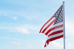 An usa flag Stock Photography