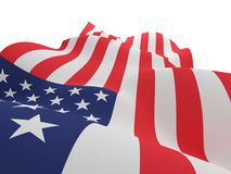 USA flag. Royalty Free Stock Images