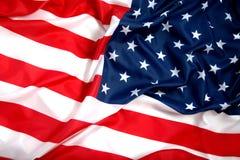 USA flag. The USA flag, clear colors Stock Photos