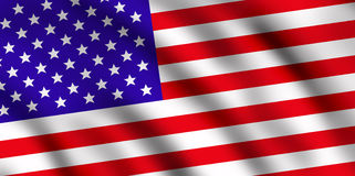 USA flag royalty free illustration