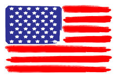 Usa  flag. A flag of the united states of america Royalty Free Stock Photo