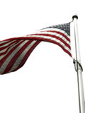 USA Flag. Beautiful flag from the United States Stock Images