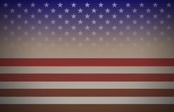 USA flag abstract background vector - perfect for national holidays designs stock illustration