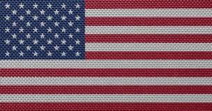 USA flag Royalty Free Stock Photo