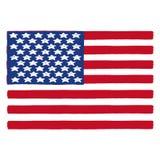 USA flag. American flag illustration; United States flag Stock Photos