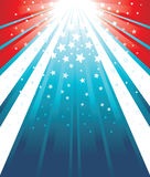 USA Flag Background Stock Photo