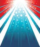 USA Flag Background Stock Photo