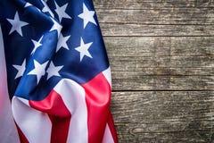 USA flag background. Royalty Free Stock Photography