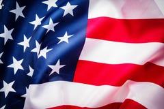 USA flag background. Stock Photos