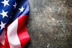 USA flag background. Royalty Free Stock Photos