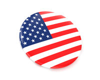 USA flag (badge) Royalty Free Stock Images