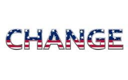 USA flag change concept Royalty Free Stock Image