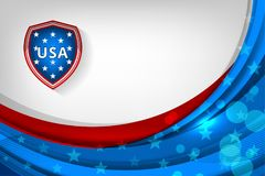 USA Flag Color Backgrounds Royalty Free Stock Image
