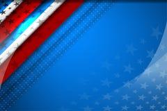 USA Flag Color Backgrounds Stock Photos