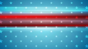 Usa flag colors abstract video animation stock video