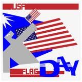 Usa flag day Royalty Free Stock Image
