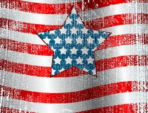 USA flag Design Stock Photos