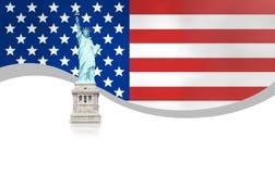 USA Flag Design Royalty Free Stock Photography