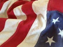 USA flag detail Stock Photography