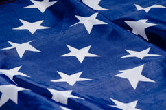USA flag detail stock image