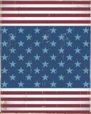 Usa Flag Frame Design Royalty Free Stock Image