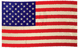 Usa flag grunge flag Royalty Free Stock Photography