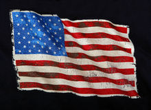 USA Flag Royalty Free Stock Photography