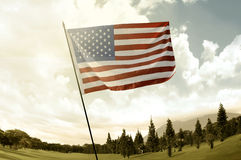 USA Flag Royalty Free Stock Images