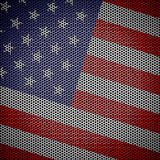 Usa flag Honeycomb mesh background Royalty Free Stock Images