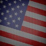Usa flag Honeycomb mesh background Royalty Free Stock Images