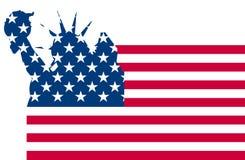 Usa flag liberty Royalty Free Stock Image