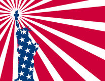 Usa flag liberty Royalty Free Stock Images