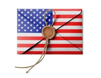 The USA flag Stock Image