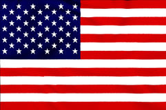 USA Flag Royalty Free Stock Photo