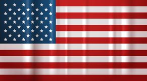 USA Flag National Symbol United States Of America Banner Stock Photos