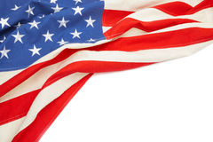 USA flag with place for your text Stock Photos