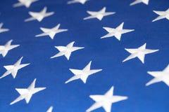 USA flag stars making pattern - studio shot Stock Photos