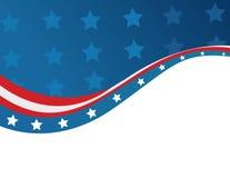USA flag in style vector Stock Photos